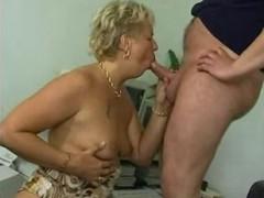 reifes paar beim oralsex